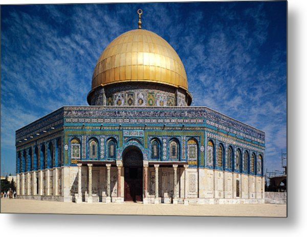 Dome Of The Rock Metal Print