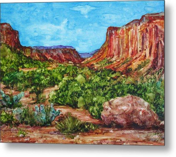 Dominguez Canyon Metal Print