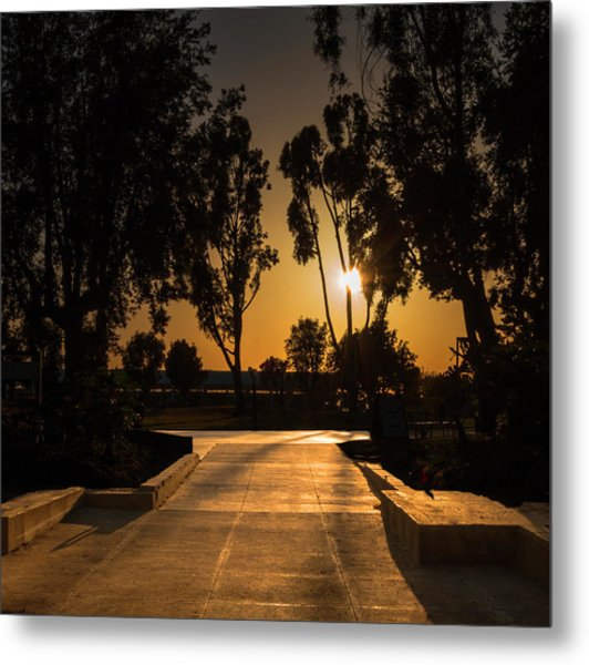 Dominguez Hills Sunset Metal Print