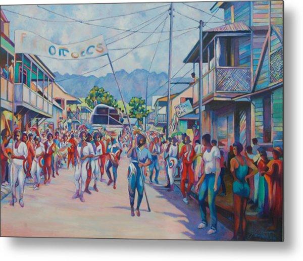 Dominica Carnival Metal Print