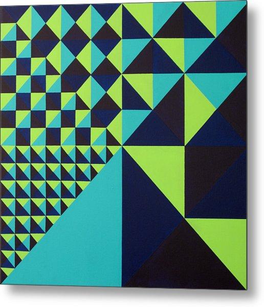 Domino Theory Metal Print