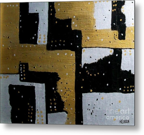 Dominos Metal Print by Marsha Heiken
