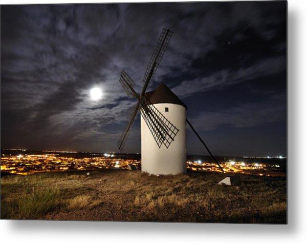 Donde Estas Don Quijote? Metal Print