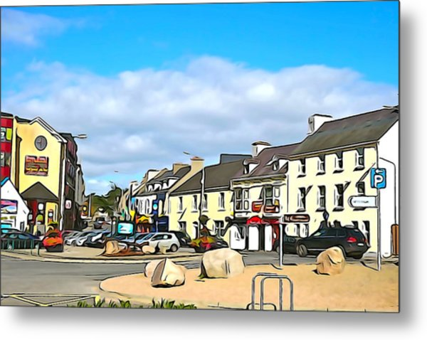 Donegal Town Metal Print