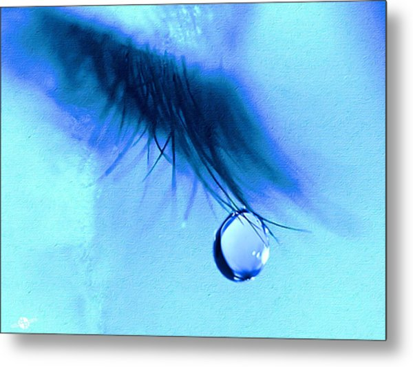 Don't Cry Metal Print