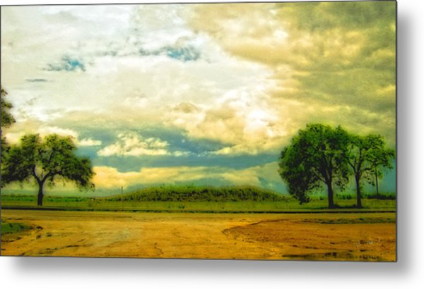 Don't Know Why There's No Sun Up In The Sky Metal Print