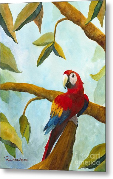 Metal Print featuring the painting Dont Worry Be Happy by Phyllis Howard