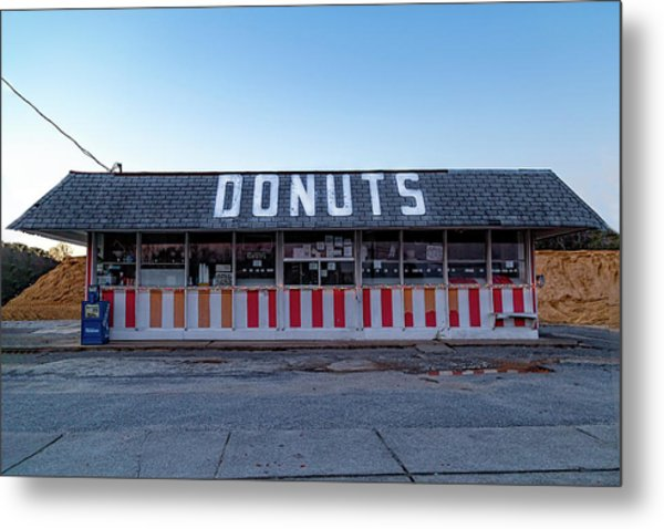 Donut Shop No Longer 3, Niceville, Florida Metal Print