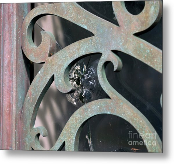 Door Detail Metal Print
