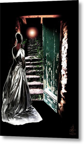 Door Of Opportunity Metal Print