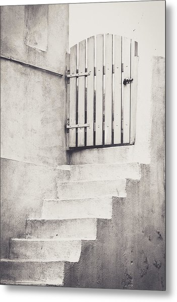 Door To Nowhere. Metal Print