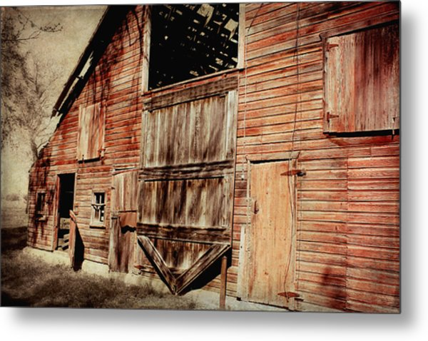 Doors Open Metal Print