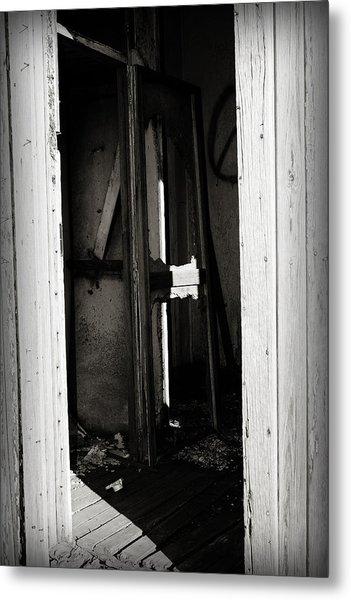 Doorway In Cuervo Metal Print