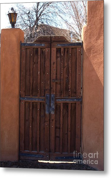 Doorway New Mexico Metal Print
