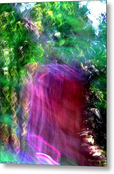 Doorways Sometimes Open Metal Print by Jane Tripp