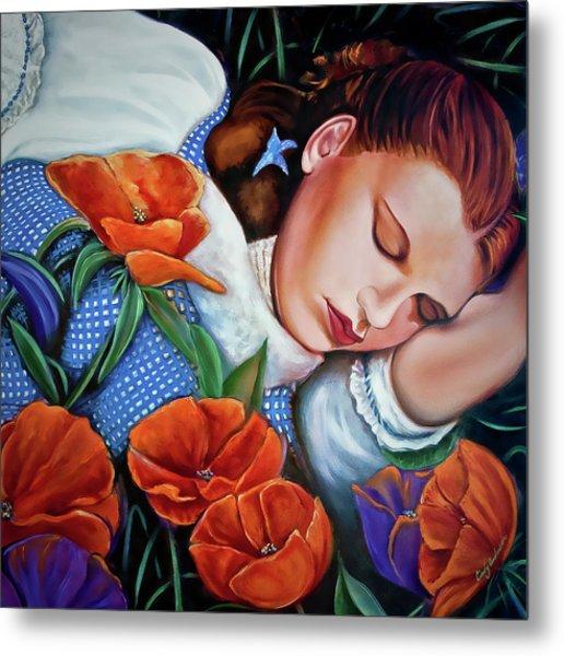 Dorothy's Sleep Metal Print