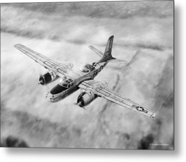 Douglas A-26 Invader Metal Print