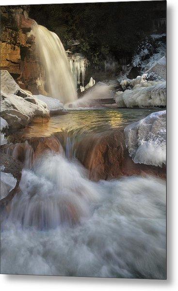 Douglas Falls Flow Metal Print