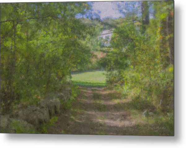 Down From The Mansion Metal Print
