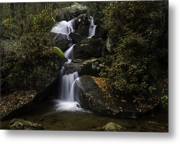 Down Stream Metal Print