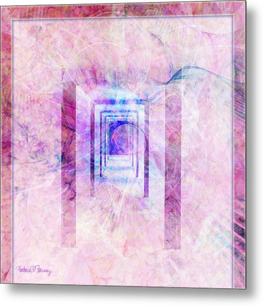 Down The Hall Metal Print
