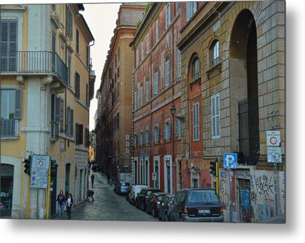 Down Via Giulia Metal Print by JAMART Photography