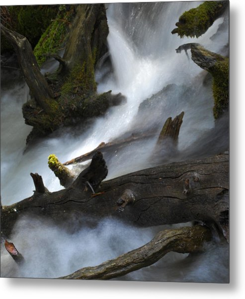 Downstream Metal Print by Matthew Fredricey
