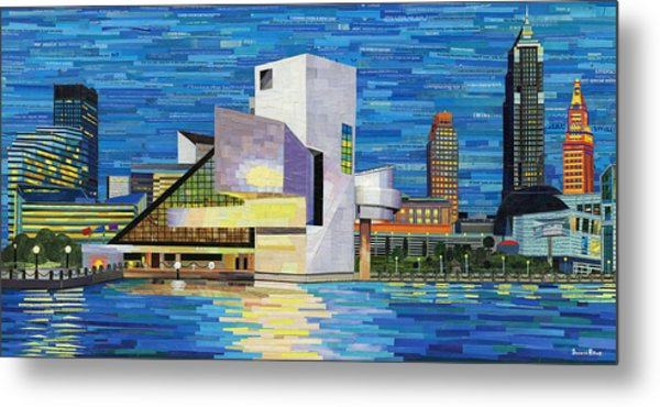 Downtown Cleveland Skyline  Metal Print
