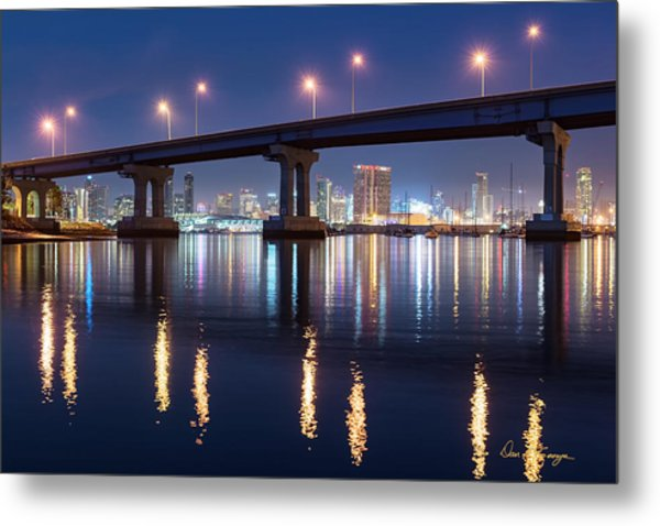 Metal Print featuring the photograph Downtown by Dan McGeorge