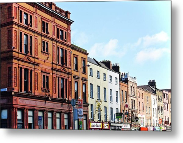 Downtown Dublin Metal Print