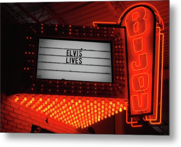 Downtown Knoxville Metal Print by JAMART Photography