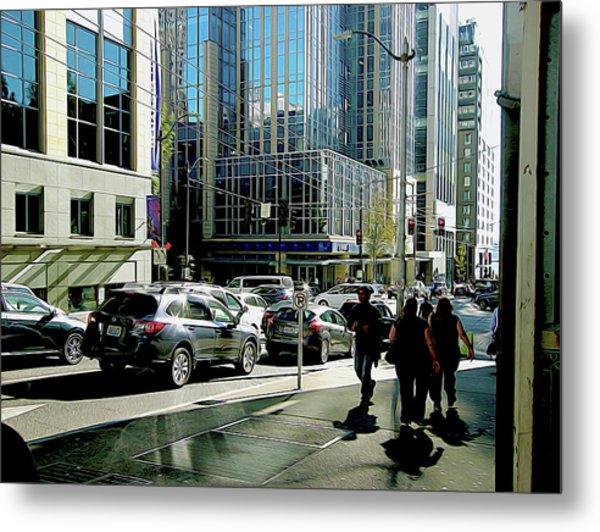 Downtown Seattle Metal Print