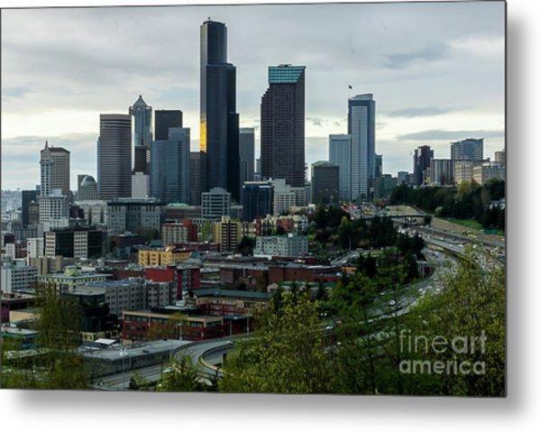 Downtown Seattle,washington Metal Print
