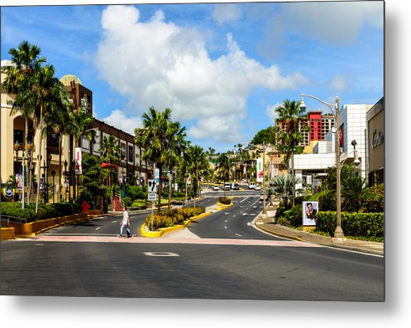 Downtown Tamuning Guam Metal Print
