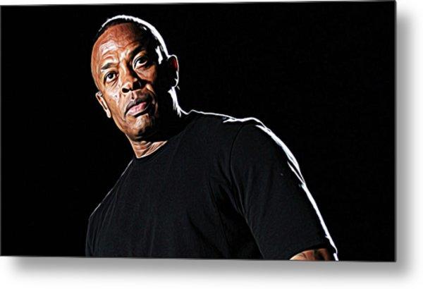 Dr. Dre Metal Print