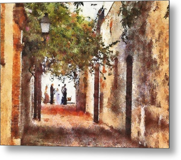Dr Wedding Metal Print