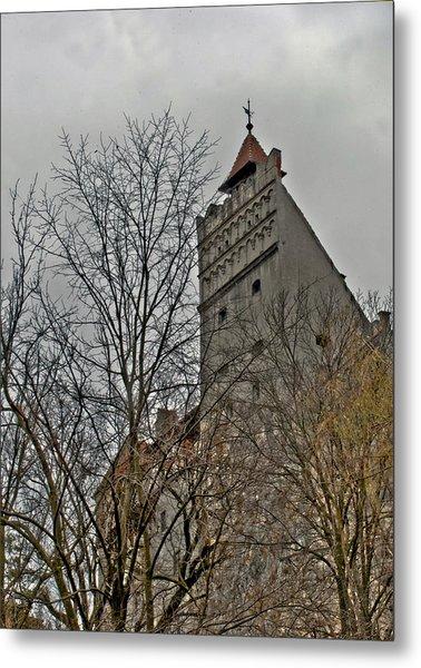 Dracula's Castle Transilvania In Hdr Metal Print