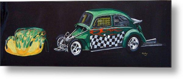 Drag Racing Vw Metal Print