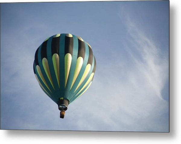 Dragon Cloud With Balloon Metal Print
