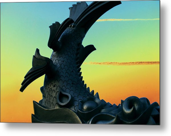 Dragon Fish Metal Print