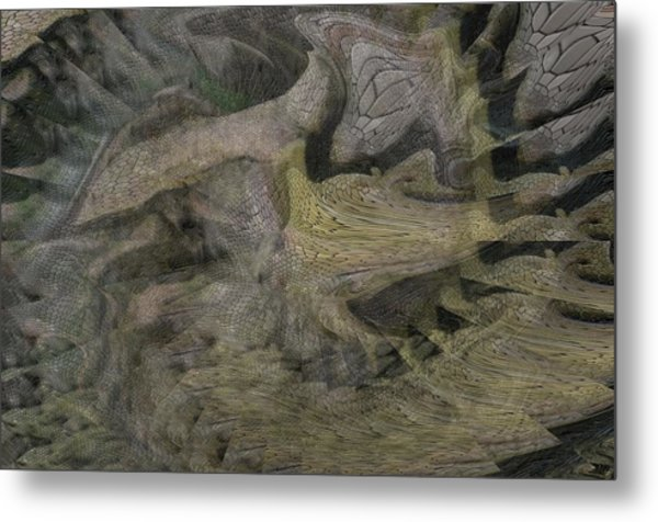 Dragon Fury Metal Print