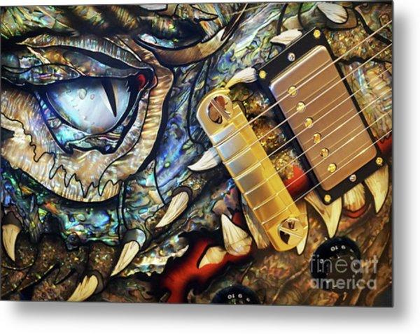 Dragon Guitar Prs Metal Print