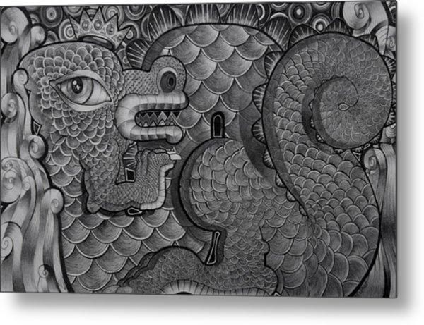 Dragon King Metal Print