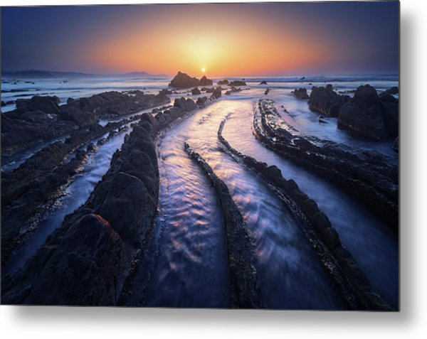 Dragon Lair Metal Print