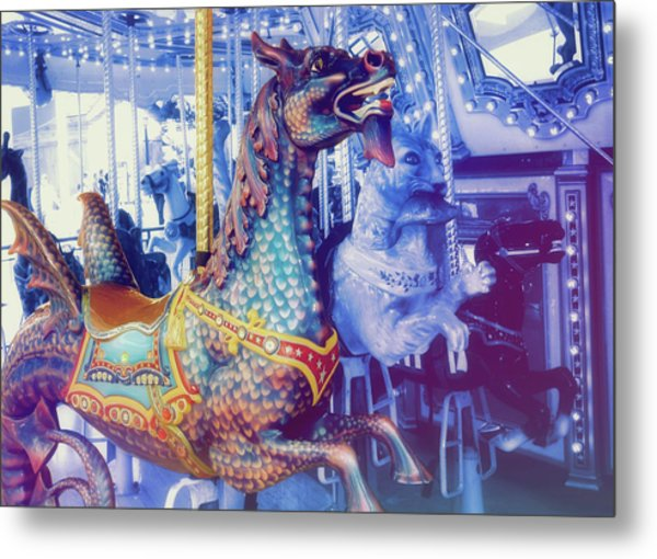 Dragon Rider Metal Print by JAMART Photography