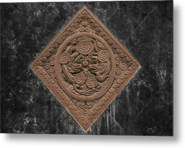 Metal Print featuring the photograph Dragon Seal by William Dickman