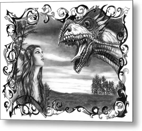 Dragon Whisperer  Metal Print