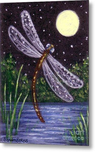 Dragonfly Dreaming Metal Print