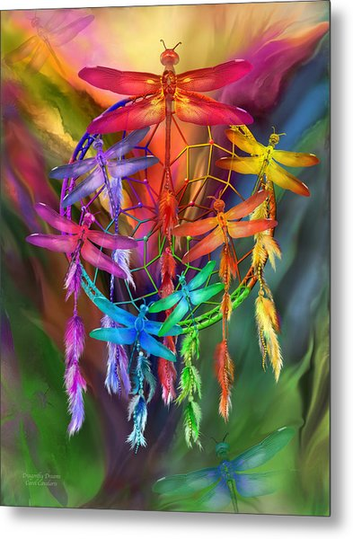 Dragonfly Dreams Metal Print