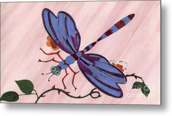 Dragonfly Metal Print by Norman Reutter